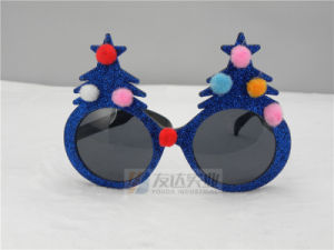 PC Christmas Tree Glasses (GGM052) pictures & photos
