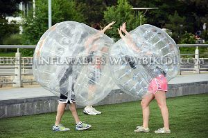Newest Human Sized Soccer Bubble Ball, Zorb Football, Inflatable Bubble Ball D1005 pictures & photos