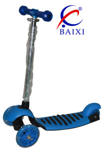 Plastic Toy Kick Scooter for Kids (BX-WS002)