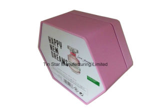 Custom Cosmetic Perfume Box Gift Tin Box