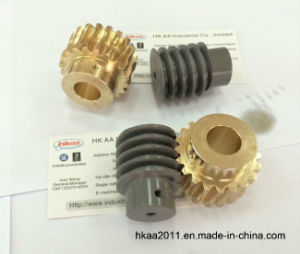 Power Transmission Mechanical Worm Gear Set for Printer pictures & photos