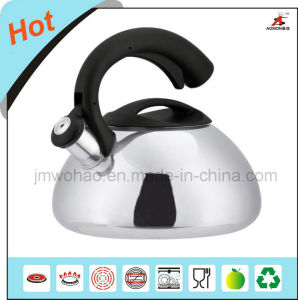 Stainless Steel Single Bottom Tea Kettle (FH-027)