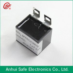 Long Lifetime Low ESR Cbb15 Capacitor for Welding Machine pictures & photos