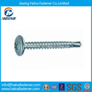 Zinc Plated Wafer Head Self-Drilling Screw pictures & photos