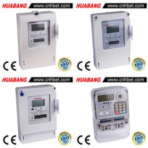 China Three Phase Electronic Prepaid Kilowatt-Hour Meter