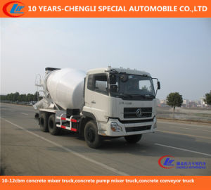 10-12cbm 10 Wheels Concrete Mixer Truck, Concrete Pump Mixer Truck, Concrete Conveyor Truck pictures & photos
