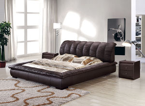 Redian Wholesale Modern Leather Bed