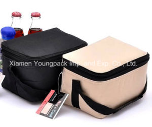 Promotional Small Insulated Canvas Lunch Tote Bag pictures & photos