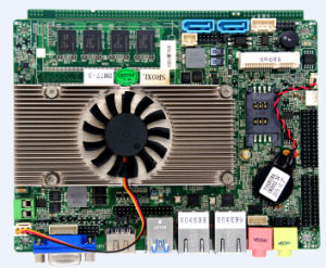 3.5inch Embedded PC Motherboard with 4GB RAM Support 3G/WiFi/1080P Lvds pictures & photos