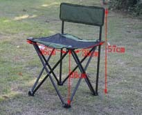 Portable Camping Chair, 600d Polyester Beach Chair Folding Comfortable with Mesh