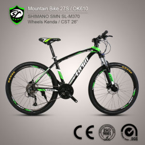 Shimano Altus 27-Speed Aluminum Alloy Mountain Bike (European Quality Level)