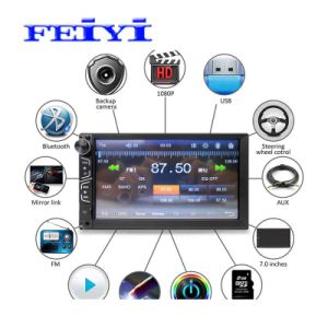 "china 2 din 7"" touch screen car radio audio video mp5 playerbasic info"