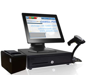 Factory Buy Best 15 Inch POS All in One 2.4GHz in 1024 X 768 Resolution