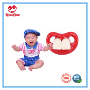 Funny Baby Pacifiers with Pacifier Case pictures & photos