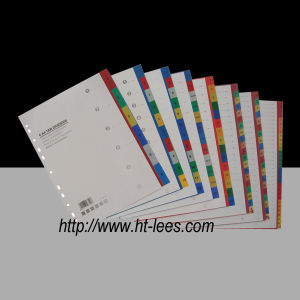 PP Color Index Tab Dividers (F-5CP)