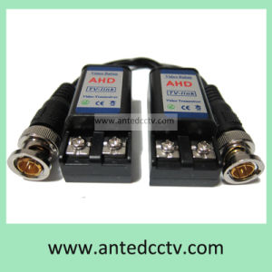1 Channel Passive HD Tvi Cvi Ahd Cvbs Twisted Pair Cat5 Cable UTP Video Balun Transceiver pictures & photos