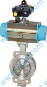 Tri-Eccentric Metal Seal Butterfly Valve