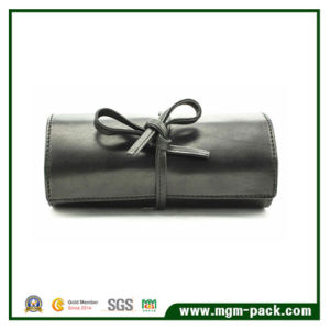 Customized Made Leather Jewelry Roll as Gift pictures & photos