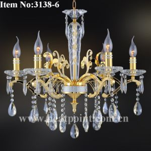 Lamp / 6-Light Crystal Chandelier (HP3138-6)