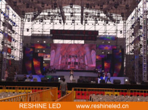 Outdoor Rental Stage Background Event Fixed LED Video Display Screen/Panel/Sign/Wall