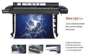 "Economic 60"" Large Format Printer for Indoor and Outdoor (Sino-750) pictures & photos"
