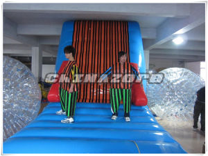 New Arrival Sport Game Hook & Loop Inflatable Sticky Wall Factory Price