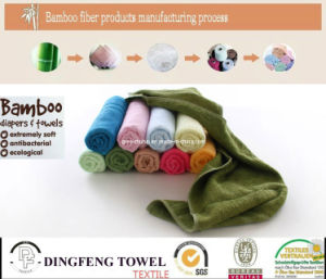 New Pure Nature 70%Bamboo 30% Cotton Towel pictures & photos