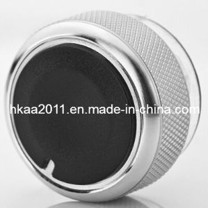 Custom Knurled Stainless Steel Car Radio Knob pictures & photos