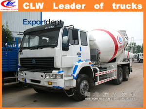 Sinotruk HOWO 6*4 Concrete Mixer Trucks for Sale pictures & photos