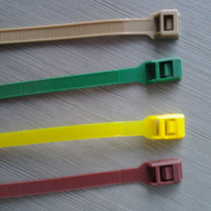 Releasable Nylon Cable Ties Assorted Color pictures & photos