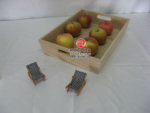 Wood Fruit Tray pictures & photos