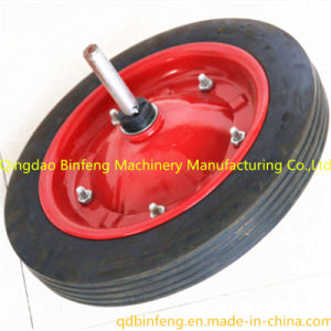 China Top Quality Wheelbarrow Solid Rubber Wheels