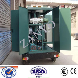 Zym Mobile High Vacuum Lubricating Oil Filter Plant
