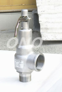 Spring Fall Lift Male Thread Safety Valve with Spanner pictures & photos