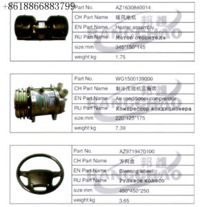 Sinotruk HOWO Truck Spare Parts Car Accessory Intercooler Pipe pictures & photos