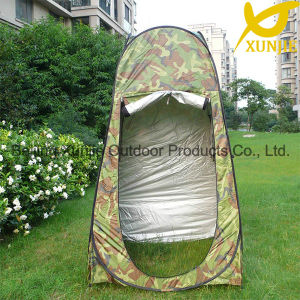 Camouflage Camping Pop up Shower Tent