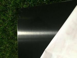 201 304 316 316L Black Mirror Finished Stainless Steel Sheet Plate pictures & photos