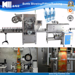 Labeling Machine for Washing-up Liquid Plastic Bottle pictures & photos