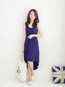 593de6bd1a China Spring Short Front Long Back Fat Woman Maxi Dress (FA012 ...