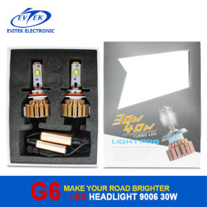 6000k G3 Car LED Headlight Bulbs Conversion Kit 9006 30W 3200lm LED Auto Headlamp for Car Front Fog Light Bulb in 2017 pictures & photos