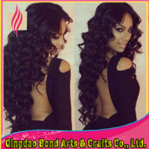 Hot Sexy All Style Peruvian Virgin Wavy Glueless Full Lace Wig pictures & photos