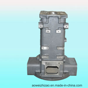 Customized Ductile Iron Casting Gearbox by Shell Casting, ISO9001: 2008, Awkt-0006