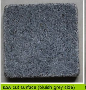 Bluish Grey Side Tumbling Limestone Tile