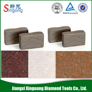 Hot Sale Garnite Stone Cutting Marble Diamond Segment pictures & photos