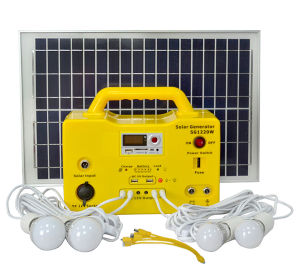 Solar Lighting System with 20W Solar Panel pictures & photos