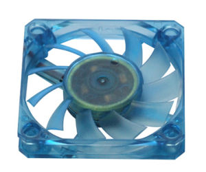 6010 Series Clear Blue DC Axial Fan pictures & photos