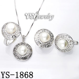 Fashion 925 Silver Pearl Jewellery Set (YS-1868) pictures & photos