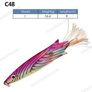 Colorful Metal Fishing Lure Spoon pictures & photos
