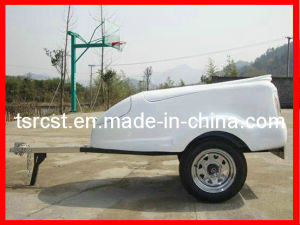China High Quanlity Fiberglass Motorcycle Cargo Trailers Rc Mt 02