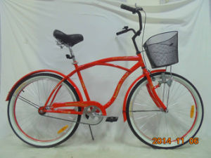 "Best Seller 26"" Man Type Beach Cruiser Bicycle (FP-BCB-C027) pictures & photos"